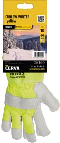 CURLEW Winter hivis rukavice